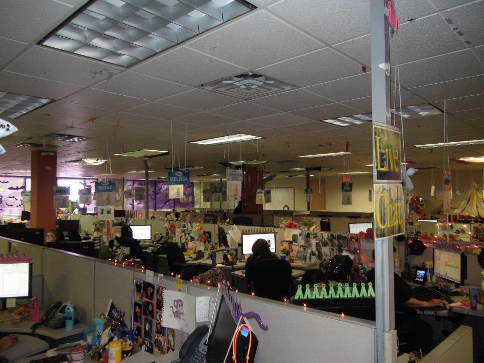 Zappos' Großraumbüro