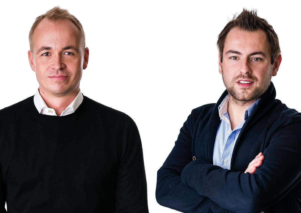 Sven Lubek Gründer und Geschäftsführer von Covus  Matthias Lesch Covus Crobo GmbH