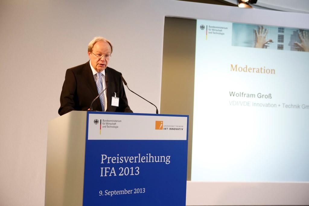 Wolfram Groß VDIVDE-IT GmbH Projektleiter des Gründerwettbewerbs