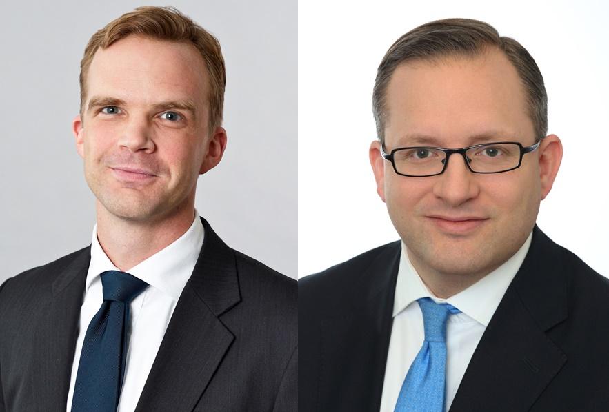 Dr. Gunnar Sachs (li.) und Frederik Mühl (re.) verstärken als neue Partner den Corporate- und Private Equity-Bereich der Anwaltskanzlei Clifford Chance.