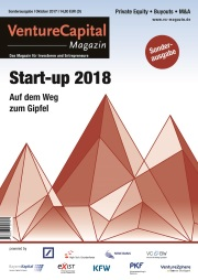 Titelbild VC Sonderausgabe Start-up 2018