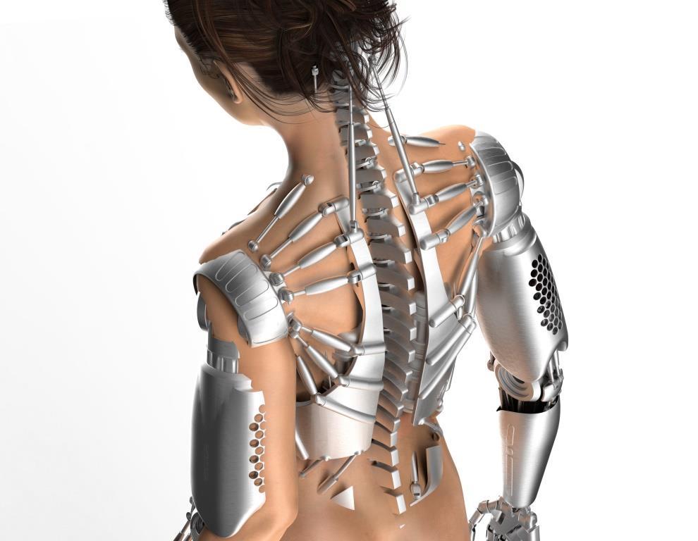 Exoskelette für den Einsatz in der industriellen Produktion