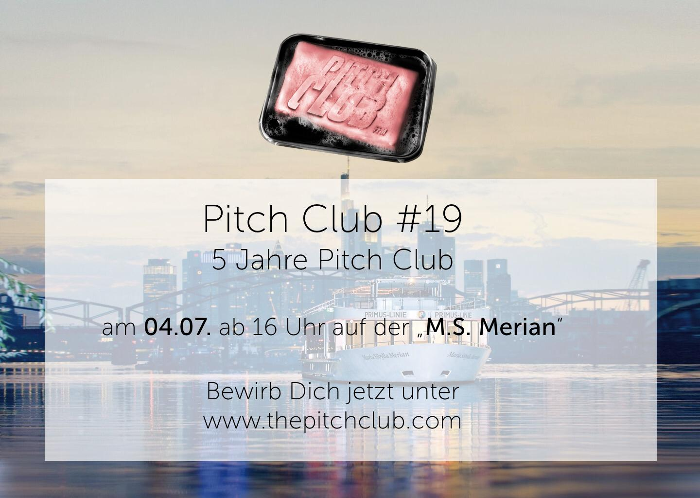 Pitch Club #19