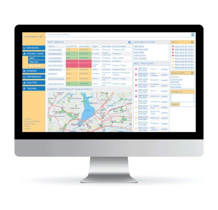 Evertracker GmbH: alles im Blick – volle Kontrolle über Logistikprozesse