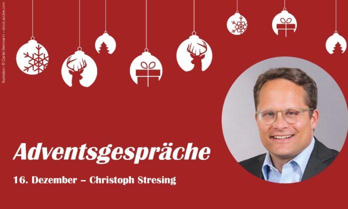 Adventsgespräche – 16. Dezember; Mit Christoph Stresing, Bundesverband Deutsche Startups