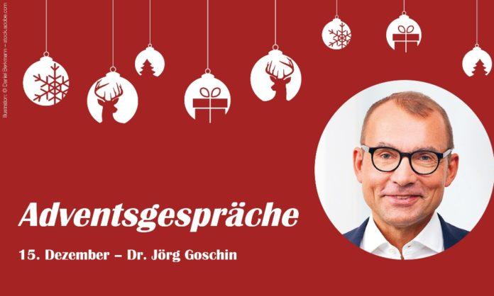 Adventsgespräche – 15. Dezember; Mit Dr. Jörg Goschin, KfW Capital