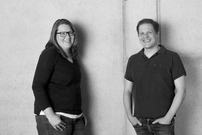 Claudia und Benedikt Sauter - Gründer des ERP-Startups Xentral