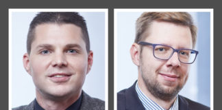 Mit der Patentförderung WIPANO hochwertige IP-Assets aufbauen - Dr. Christoph Gaebel (li.), Dr. Hanns Kache (re.)