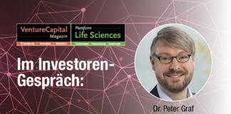 """Dr. Peter Graf, Investmentmanager Venture Capital, BayBG: """"Wir verfolgen einen langfristigen und kooperativen Ansatz"""""""