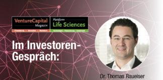 """""""Unser Life Science-Portfolio ist vielfältiger und facettenreicher geworden"""" - Interview mit Dr. Thomas Raueiser, Senior Investment Manager für Life Sciences & Cleantech, NRW.Bank"""