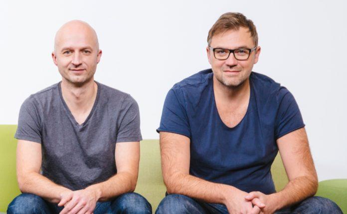 Blockchains, Inc. Übernimmt Dresdner Start-up evan GmbH - CEO Thomas Müller (li.) und CTO Thomas Herbst (re.)
