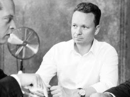 Mit Sascha van Holt, Founding Partner Crosslantic Capital (Mi.)