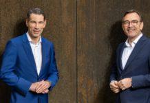 BayBG veröffentlicht Jahreszahlen - Peter Pauli (li.) und Peter Herreiner blicken positiv in die Zukunft