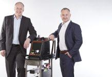 Prof. Dr.-Ing. Christoph Benk und Jörg Ronde, Geschäftsführer der Resuscitec GmbH