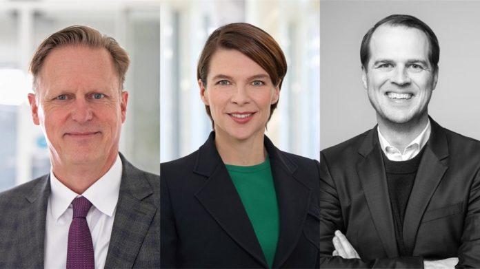 Holger Zervas, Patricia Volhard und Kaspar Hartmann (v.l.n.r.) sind neue Vorstandsmitglieder im BVK