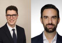Dr. Tobias Bauerfeind, Ashurst (li.) und Dr. Jan Claudio Muñoz, Backbone Ventures