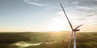 Windrad Infrastrukturprojekt