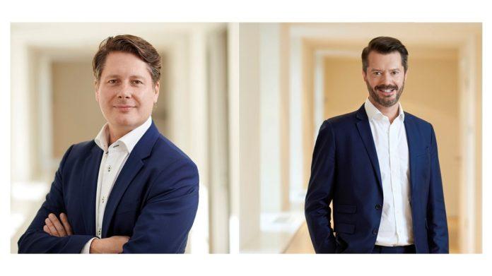 Julian Ostertag (li.) und Ralf Philipp Hofmann, Drake Star Partners