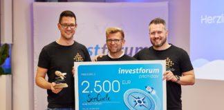 SenCircle, Gewinner des Pitch-Day-Investforum