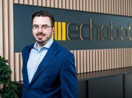 Bastian Karweg, Gründer und CEO Echobot