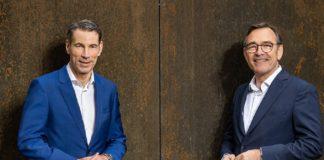BayBG-Geschäftsführung Peter Pauli (li.) und Peter Herreiner